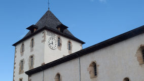 Free Old Church Tower With Clock France Royalty Free Stock Photo - 62000115