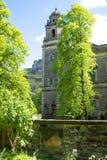 Old church with trees in Edinburgh, Scotland Stock Photo