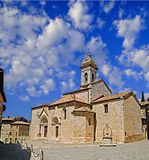 Old Church in Tuscany Stock Photography