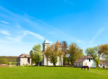 Old church (Ukraine) Royalty Free Stock Photos
