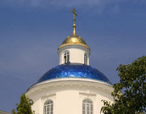 The old church in Ukraine. Old church in Ukraine city of Sumy, Christianity, background Royalty Free Stock Photos
