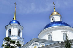 The old church in Ukraine. Old church in Ukraine city of Sumy, Christianity, background Stock Photo