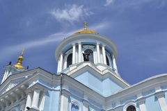 The old church in Ukraine. Old church in Ukraine city of Sumy, Christianity, background Stock Photography