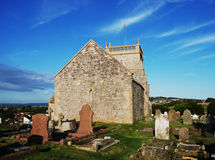 Old church in Uphill Stock Image