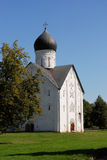Old church in Velikiy Novgorod. Velikiy Novgorod is one of the oldest and most beautiful cities in Russia stock images