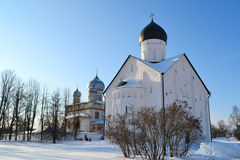 Old church in Veliky Novgorod Royalty Free Stock Image