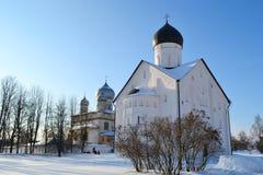 Old church in Veliky Novgorod Royalty Free Stock Image