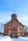 Old church in Veliky Novgorod. Royalty Free Stock Image