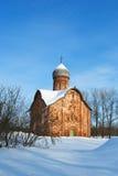 Old church in Veliky Novgorod. Stock Photography