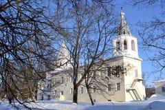 Old church in Veliky Novgorod. Royalty Free Stock Photography