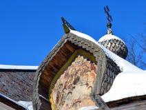 Old church in Veliky Novgorod. Stock Image