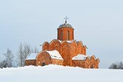 Old church in Veliky Novgorod. Stock Images