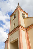 Old church in Venancio Aires. German colony in Brazil stock photo