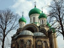 Old church in Vilnius. Orthodoxy in Lithuania Vilnius city Royalty Free Stock Photography