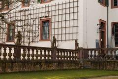 Old church wall #2. Seligenstadt Rhein Stock Photos