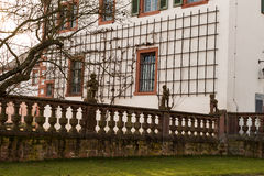 Old church wall. Seligestadt Rhein Main Stock Images