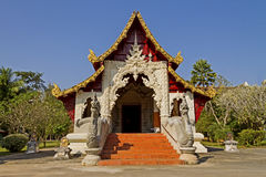 Old church Wat Ming Mung Stock Image