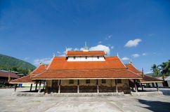 Old church at Wat Sri Pho Chai Sang Pha temple in Loei province, Royalty Free Stock Images