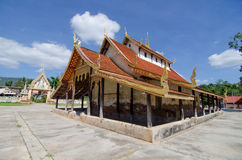 Old church at Wat Sri Pho Chai Sang Pha temple in Loei province, Stock Photos
