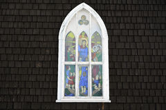 Old Church Window Stock Photos