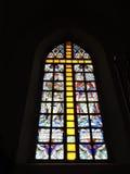 Old church window, Lithuania stock photos