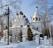 Old church in winter Stock Photography