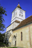 Old Church With Clock Tower, Transylvania Architecture Royalty Free Stock Photography