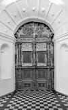 Old church wooden  door Royalty Free Stock Photos