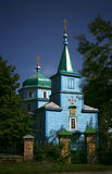 Old church. Old wooden church in Ukraine Stock Photo
