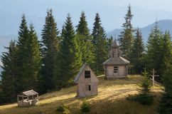 Old church in the woods Royalty Free Stock Photography