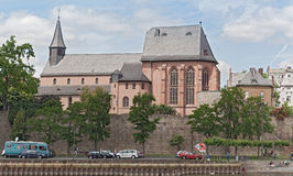 Old churche in frankfurt, germany Royalty Free Stock Photo