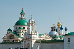 Old churches. In Rostov-Velikiy, Russia Royalty Free Stock Photography