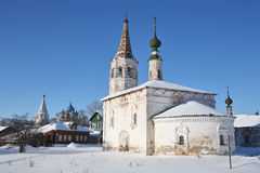 Old churches. In Suzdal (Russia Stock Photo