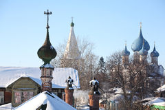 Old churches. In Suzdal (Russia Stock Image