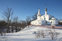 Old churches. In Suzdal (Russia Royalty Free Stock Photos