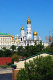 Old churches of the Moscow Kremlin. Royalty Free Stock Photography