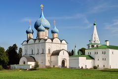 Old churches in Suzdal (Russia) Stock Image