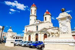Old Cienfuegos. Awesome old architecture Cienfuegos Cuba Stock Image