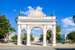 Old Cienfuegos. Awesome old architecture Cienfuegos Cuba Stock Photos