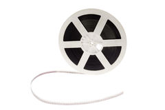 Old cinema film 16 mm Royalty Free Stock Images
