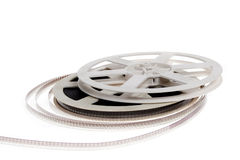 Old cinema film 16 mm Royalty Free Stock Image