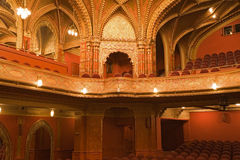 Old cinema interiors Royalty Free Stock Photo