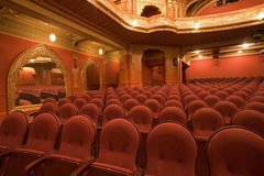 Old cinema interiors Stock Images