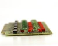 Old circuit board Stock Photo