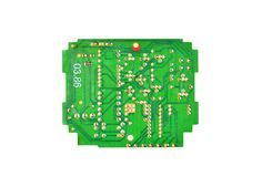 Old circuit board Stock Images
