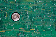 Old circuit board Royalty Free Stock Photography