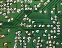 Old circuit board Royalty Free Stock Photos