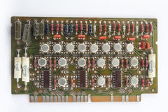 Old circuit board Royalty Free Stock Image