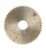 Old Circular saw Royalty Free Stock Photo