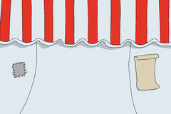 Old Circus Tent Stock Images